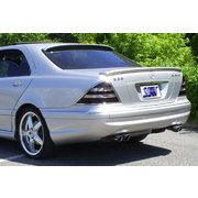 REAR SPOILER FOR MERCEDES S CLASS 1999-2006