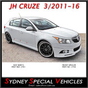 SIDE SKIRTS FOR JH CRUZE 3/2011-16