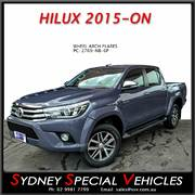WHEEL ARCH FLARES FOR HILUX 2015-2017 - FRONTS & REARS