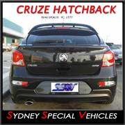 REAR SPOILER FOR JH CRUZE HATCHBACK - SRI STYLE