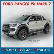 FORD PX RANGER MARK 2 WHEEL ARCH FLARES - FULL SET