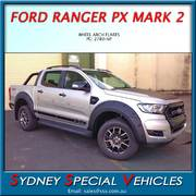 "PX RANGER MARK 2 WHEEL ARCH FLARES - ""BOLT ON"" LOOK"