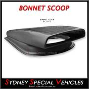 BONNET SCOOP / AIR INTAKE-  HORNET HI-LINE STYLE WITH BASE