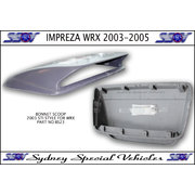 BONNET SCOOP FOR 2003 - 2005 IMPREZA WRX & STI