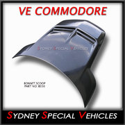 BONNET SCOOP FOR VE COMMODORE -  WALKINSHAW STYLE