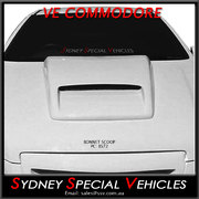 BONNET SCOOP FOR VE COMMODORE - INTERCEPTOR STYLE