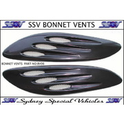 UNIVERSAL BONNET VENTS EF XR STYLE - PAIR OF
