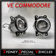 VE COMMODORE SS / SV6 / SSV DRIVING / FOG LIGHTS WITH ANGEL EYES