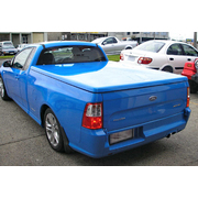 HARD LID FG FGX FALCON UTE - FLAT SMOOTH - CENTRAL LOCKING