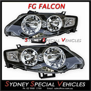 HEADLIGHTS FOR MARK 1 FG FALCON XR6 XR8 - FACTORY XR STYLE