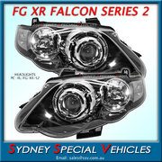 HEADLIGHTS FOR FG FALCON XR6 XR8 MARK 2 - FACTORY XR STYLE