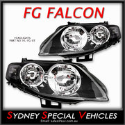 HEADLIGHTS FOR FG FALCON  MARK 1 XT, G6, G6E, FPV GT - FACTORY STYLE