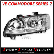 HEADLIGHT FOR VE COMMODORE SERIES 2 - PASSENGER SIDE