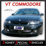 HEADLIGHTS FOR VT COMMODORE, MONARO, WH STATESMAN - BLACK PROJECTOR STYLE