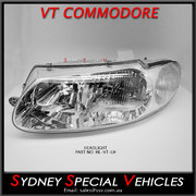 PASSENGER SIDE HEADLIGHT FOR VT COMMODORE, SS, BERLINA, CALAIS, WH STATESMAN