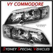 HEADLIGHTS FOR VY COMMODORE - SS STYLE - PAIR