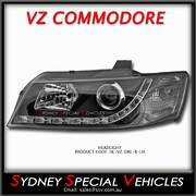 DRL PROJECTOR HEADLIGHT FOR VZ COMMODORE - PASSENGER SIDE
