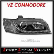 DRL PROJECTOR HEADLIGHT FOR VZ COMMODORE - DRIVERS SIDE