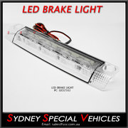 REPLACEMENT LED BRAKE LIGHT FOR REAR WING SPOILER 250 mm long - Clear lens
