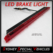 REPLACEMENT LED BRAKE LIGHT FOR REAR WING SPOILER 349 mm long