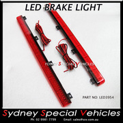 REPLACEMENT LED BRAKE LIGHT FOR REAR WING SPOILER 395 mm long