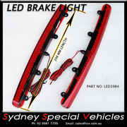 REPLACEMENT LED BRAKE LIGHT FOR REAR WING SPOILER 398 mm long