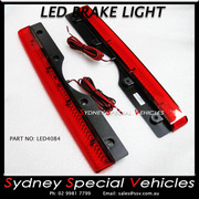 REPLACEMENT LED BRAKE LIGHT FOR REAR WING SPOILER 408 mm long