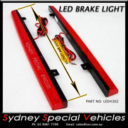 REPLACEMENT LED BRAKE LIGHT FOR REAR WING SPOILER 430 mm long