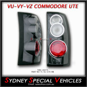 TAIL LIGHTS FOR VT VX VU VY VZ COMMODORE WAGONS & UTES - RETRO