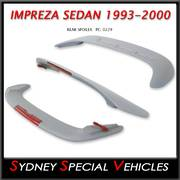 REAR SPOILER FOR IMPREZA WRX 1993 to 2000 SEDAN