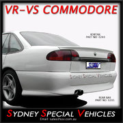 LIP SPOILER FOR VR-VS COMMODORE SEDAN - S PACK STYLE
