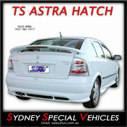 REAR SPOILER FOR TS ASTRA HATCH WITH BRAKE LIGHT