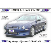 SIDE SKIRTS FOR AU FALCON SEDAN - R SPEC