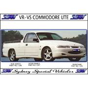 SIDE SKIRTS FOR VR-VS COMMODORE UTE - MAGNUM STYLE