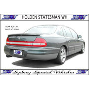 REAR SPOILER FOR WH STATESMAN & CAPRICE