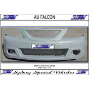 FRONT BUMPER BAR FOR AU FALCON, TS50 TE50 STYLE