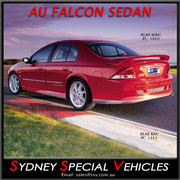 REAR BUMPER BAR FOR AU FALCON SEDAN - HAVOC/REBEL STYLE