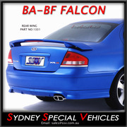 REAR SPOILER / REAR WING FOR BA -BF FALCON SEDAN XR6 XR8