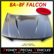 XR8 BONNET FOR BA BF FALCON WITH POWER BULGE - STEEL