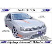 FRONT BUMPER BAR FOR FALCON BA BF,BF TYPHOON STYLE