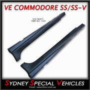 SIDE SKIRTS FOR VE-VF COMMODORE SEDANS & WAGONS - SS STYLE