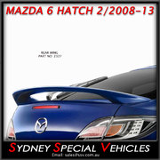 REAR SPOILER FOR MAZDA 6 HATCH 2/2008-2012
