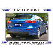 REAR SKIRT FOR CJ LANCER SPORTBACK - XDC STYLE