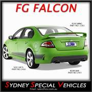 REAR SPOILER FOR FG FALCON SEDANS - GT STYLE