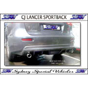 REAR BAR DIFFUSER FOR CJ LANCER SPORTBACK