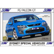 FRONT BUMPER BAR FOR FG FALCON, GT STYLE