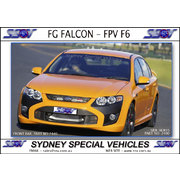 FRONT BUMPER BAR FOR FG FALCON, FPV F6 STYLE