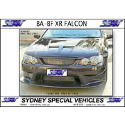BOSS BONNET FOR BA-BF FALCON XR8 / GT STYLE - TWIN VENTS
