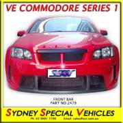 FRONT BUMPER BAR FOR VE COMMODORE SERIES 1, X2-R STYLE