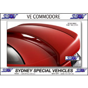 REAR SPOILER FOR VE COMMODORE SEDAN - SV6 SERIES 2 STYLE